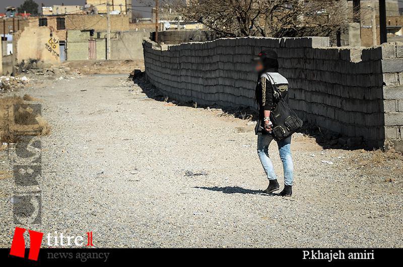 شهر نویی در کرج با کالای تن و هروئین!/ جغرافیایی نابرابر و بدون مرز زیر قدم های شوم پری بلنده و اشرف قشنگه/////
