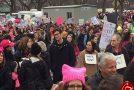اعضای خانواده ترامپ در بین تظاهرکنندگان+تصاویر
