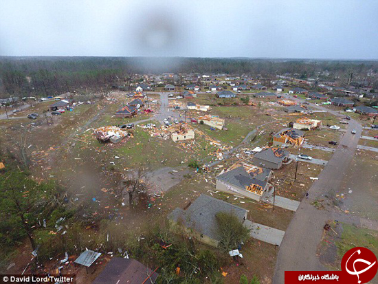 جنوب جهنمی آمریکا +تصاویر