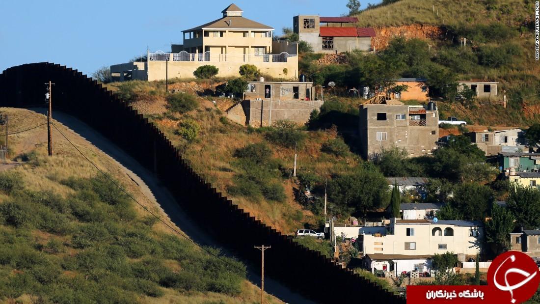 مرز فعلی بین مکزیک و آمریکا به چه شکل است؟ +تصاویر