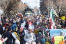 گلچین تصاویر راهپیمایی 22 بهمن95 در مهرشهر کرج