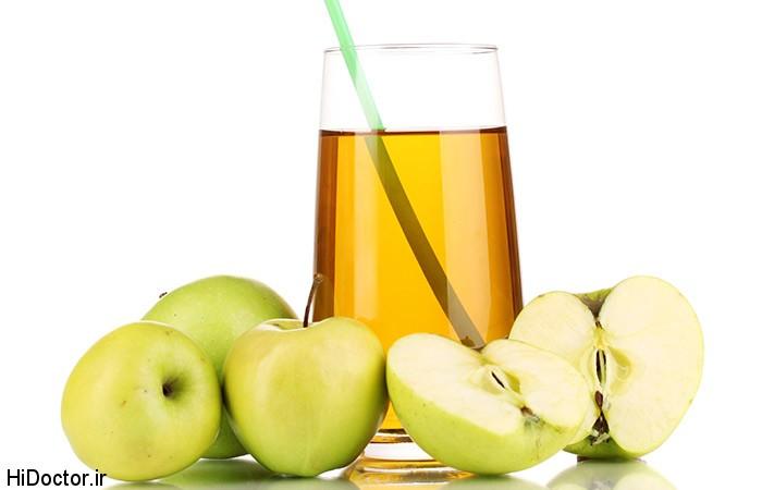 دمنوش سیب کبد شما را پاکسازی می کند