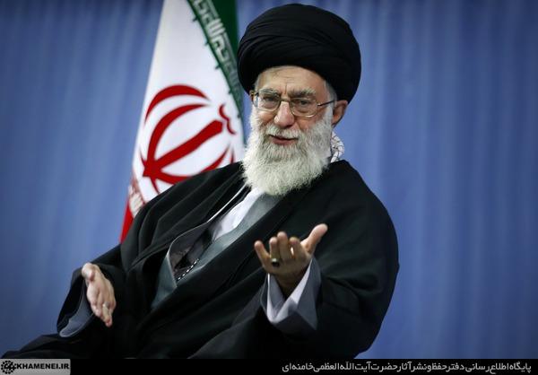 دیدار جمعی از مداحان و ذاکران اهلبیت(ع) با رهبر انقلاب اسلامی دیدار کردند