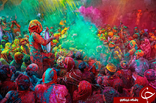 جشن تولد بهار در هند +تصاویر