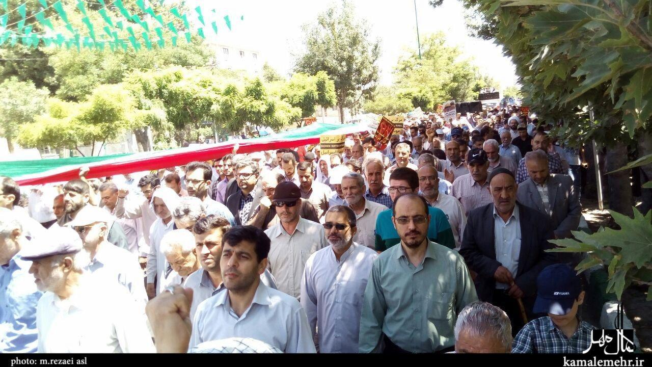 تصاویر/ راهپیمایی روز جهانی قدس در مهرشهر کرج