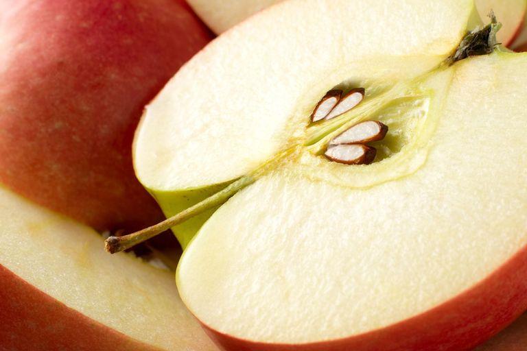 با خوردن دانه های سیب خطر مرگ در کمین شماست!