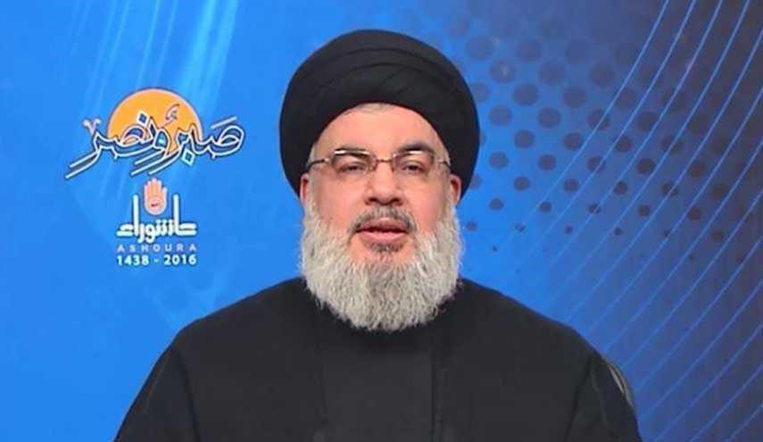 دبیرکل حزبالله: جنگ با تروریستهای تکفیری خطرناکتر از جنگ با صهیونیستها بود