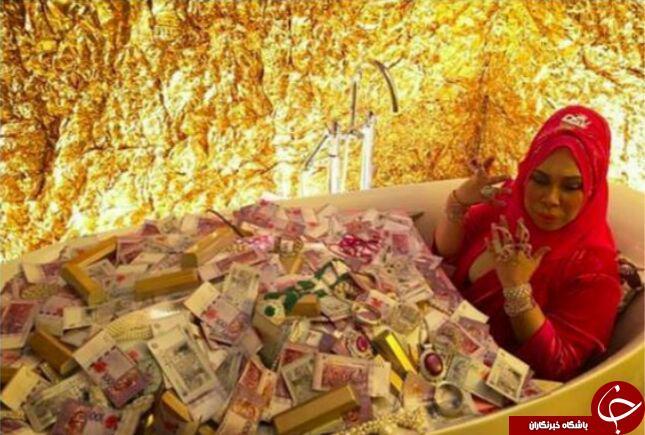 فخرفروشی زن پولدار، صدای کاربران را درآورد + تصاویر
