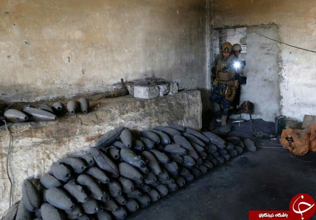 یادگاریهای سیاه داعش در رقه + تصاویر