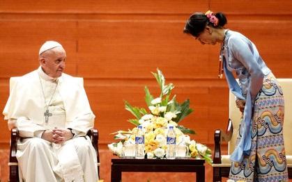 سکوت پاپ در میانمار چه مفهومی دارد!؟