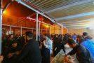 بزرگترین موکب اربعین با ظرفیت ۱۰ هزار نفر آماده پذیرایی از زائران شد/ تلاش برای ساخت موکب ۳۵ هزار نفری