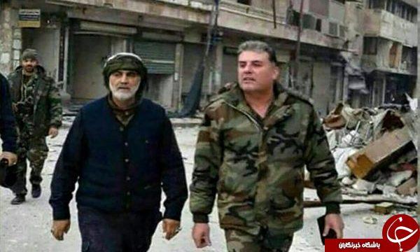 تصاویری از حضور سردار سلیمانی در چند سال گذشته در نبرد با داعش