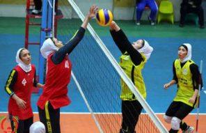 دختران نوجوان والیبالیست